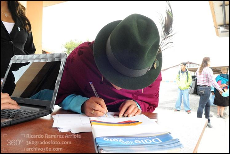 Elecciones en Ecuador. 17 de febrero de 2013.