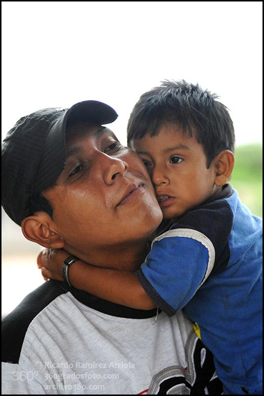 """Albergue de Migrantes """"Hermanos en el Camino"""". Ixtepec, Oaxaca, México, 14 de julio de 2011."""