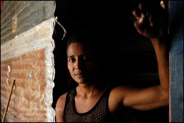 Migrante centroamericano. Albergue Parroquial. Tierra Blanca, Veracruz, México, 2009. ©Amnesty International Foto: Ricardo Ramírez Arriola