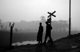 En las afueras de El Cairo, Egipto, 2009.